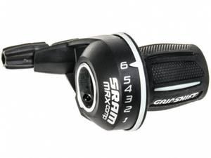 Bilde av SRAM Twist shifter MRX Comp Black 6 speed Rear